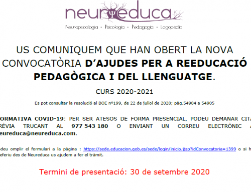 Convocatoria Becas MEC Curso 2020-2021